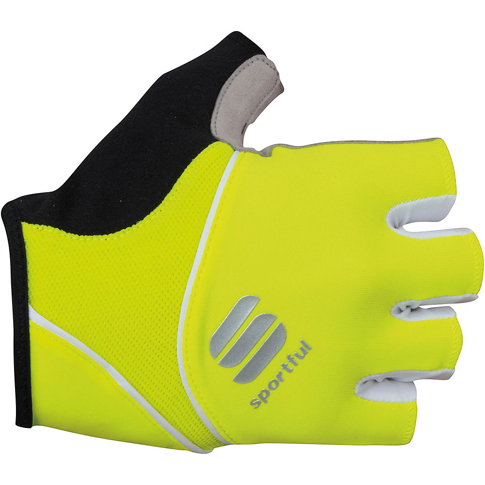 Sportful Womens Pro Gloves  - Yellow Fluo - Xs  Yellow Fluo