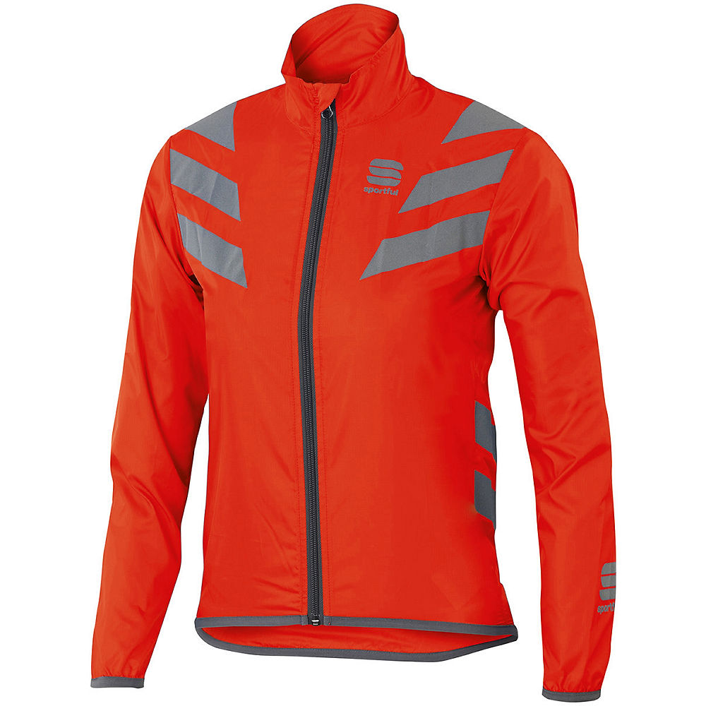Sportful Kids Reflex Jacket - Red - 8-9 Years  Red