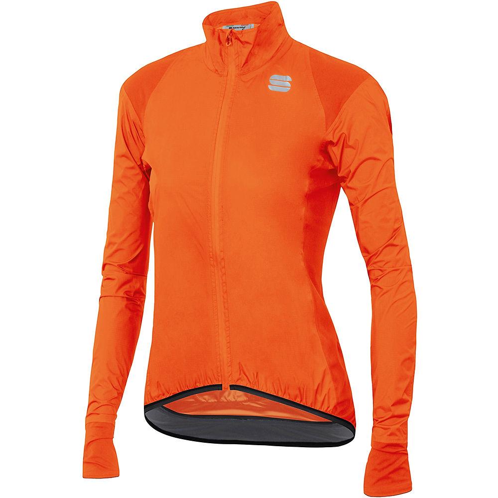 Sportful Womens Hot Pack Norain Jacket - Orange Sdr - Xs  Orange Sdr