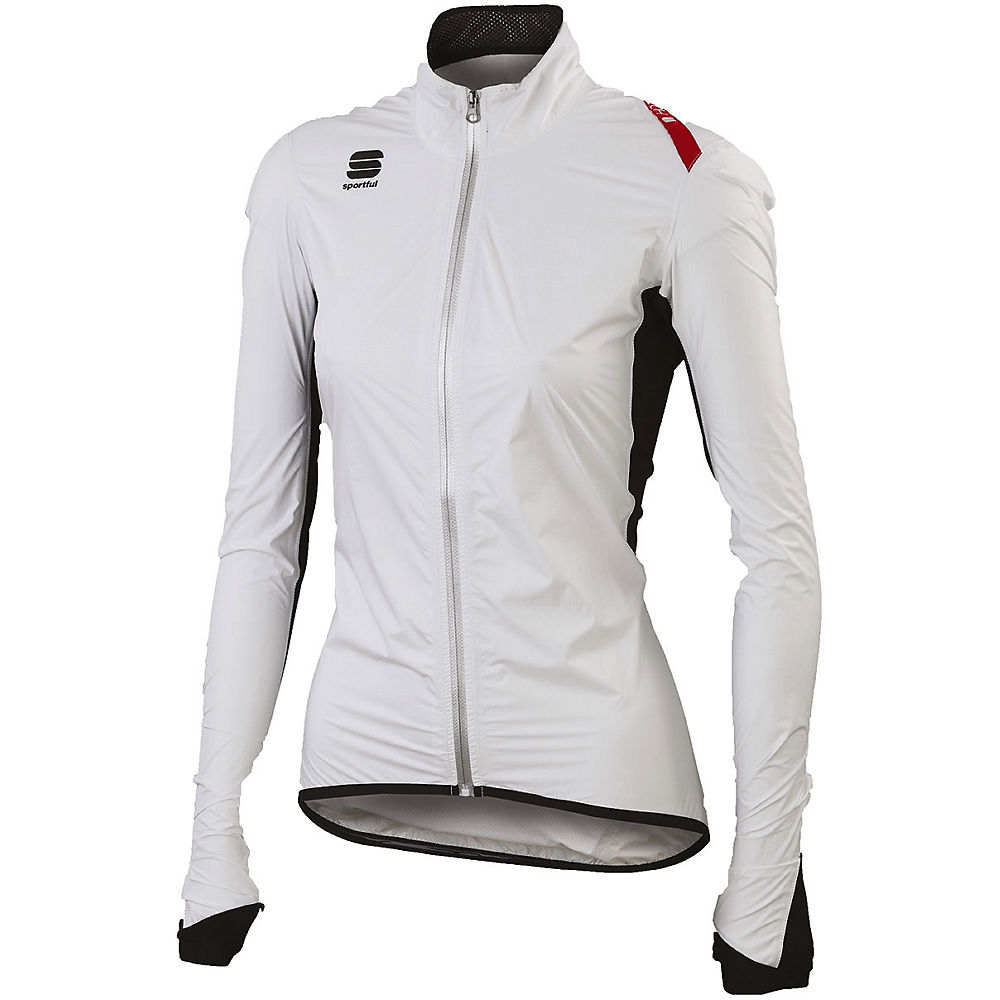Sportful Womens Hot Pack Norain Jacket - White - Xl  White