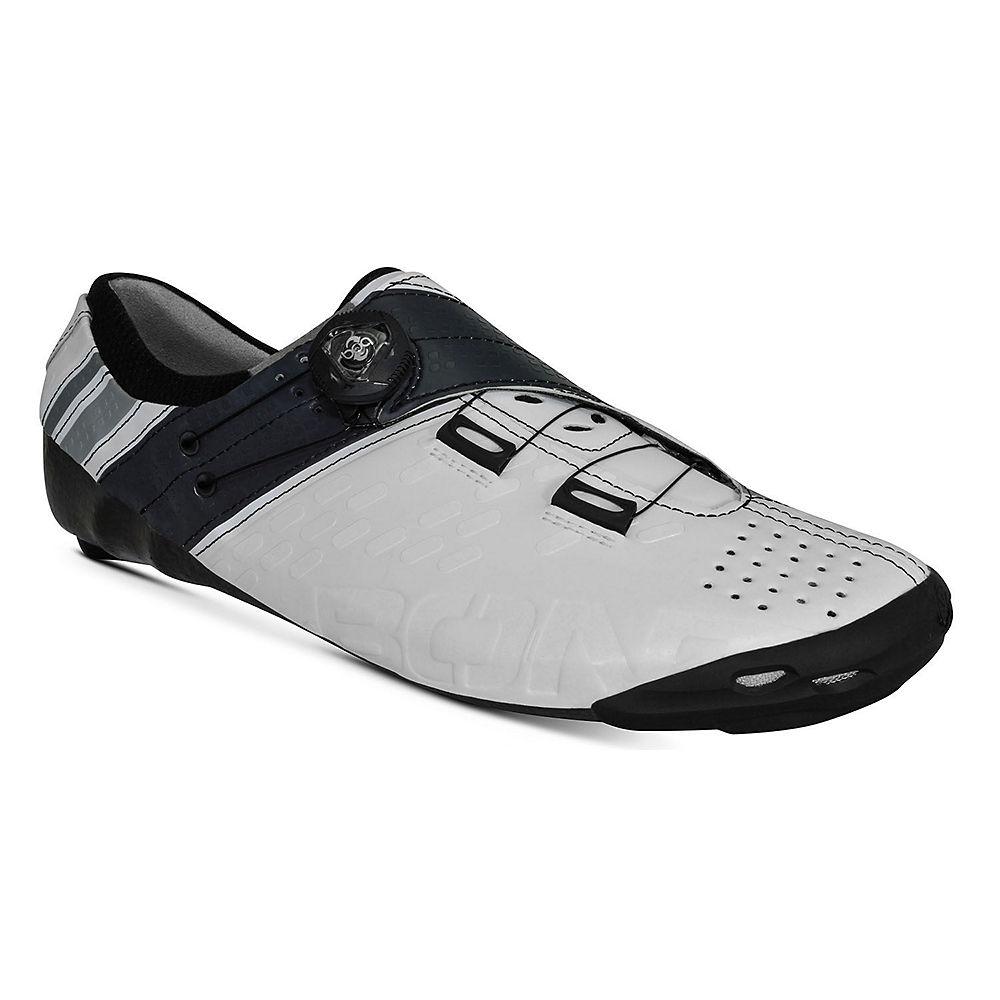 Bont Helix Road Shoe 2018 - White-charcoal - Eu 46  White-charcoal