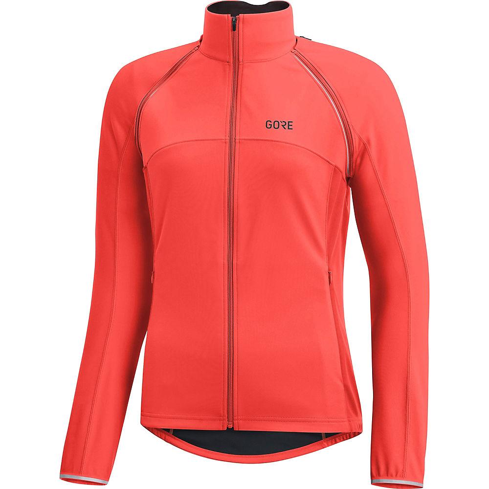 Gore Wear Women's C3 WS Phantom Zip Off Jacket - Lumi Orange, Lumi Orange