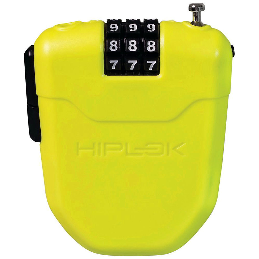 Candado de bici portable Hiplok FX (cable retráctil - 1 m) - Lima, Lima