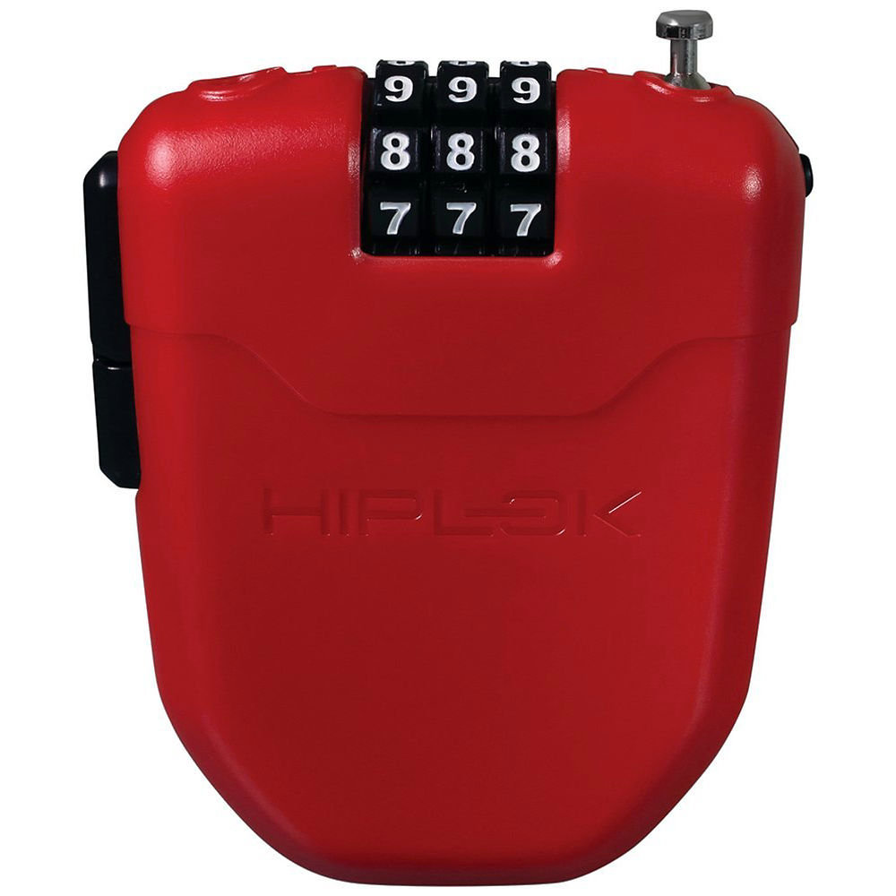 Hiplok Fx Cable Lock - Red  Red