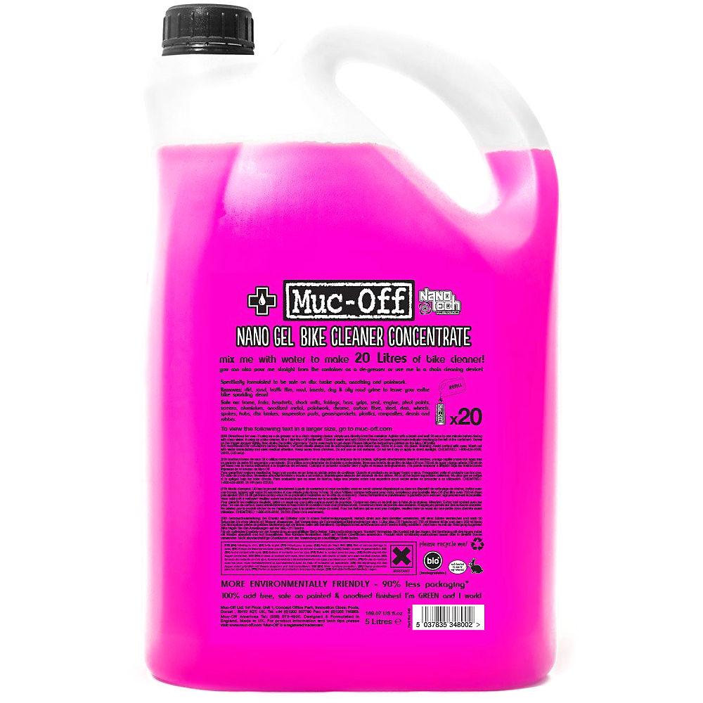 Concentado de limpieza Muc-Off Nano (5 litros)