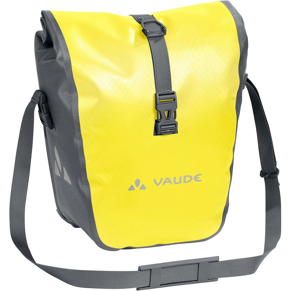 Vaude Aqua Front Pannier Bags – Pair – Canary Yellow – One Size, Canary Yellow