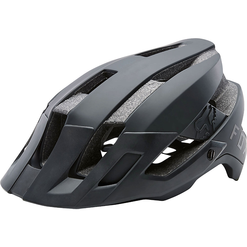 Fox Racing Flux Helmet  – Black – L/XL/XXL, Black