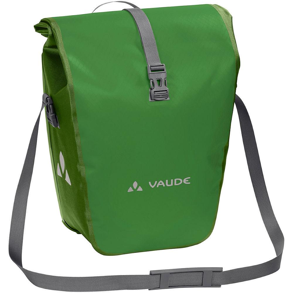 Vaude Aqua Rear Pannier Bags – Pair – Parrot Green – One Size, Parrot Green