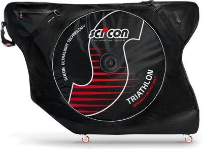Bolsa para bicicleta de triatlón Scicon AeroComfort Triathlon - Negro