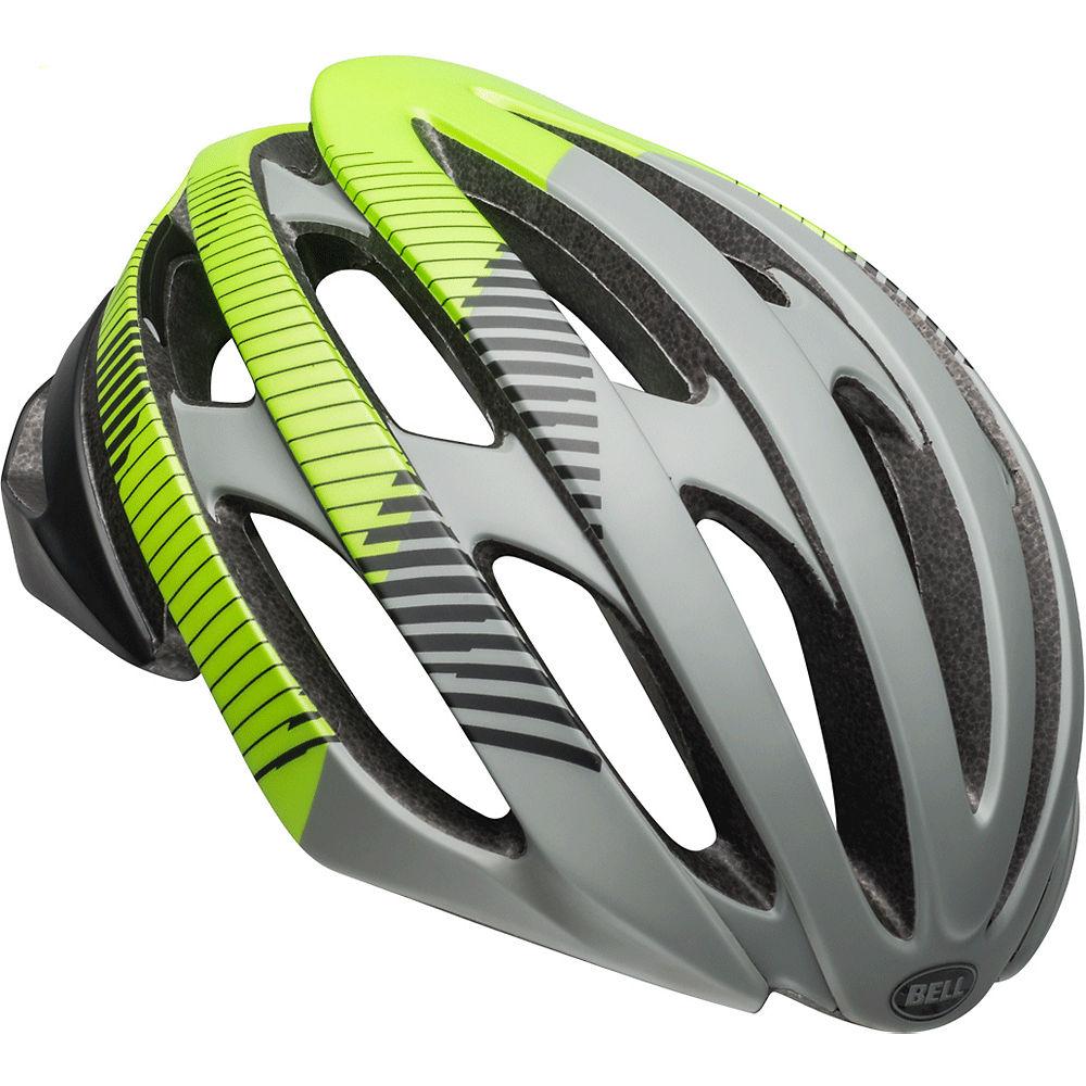 Bell Stratus MIPS Helmet 2019 – Gray-Black-Green 19, Gray-Black-Green 19
