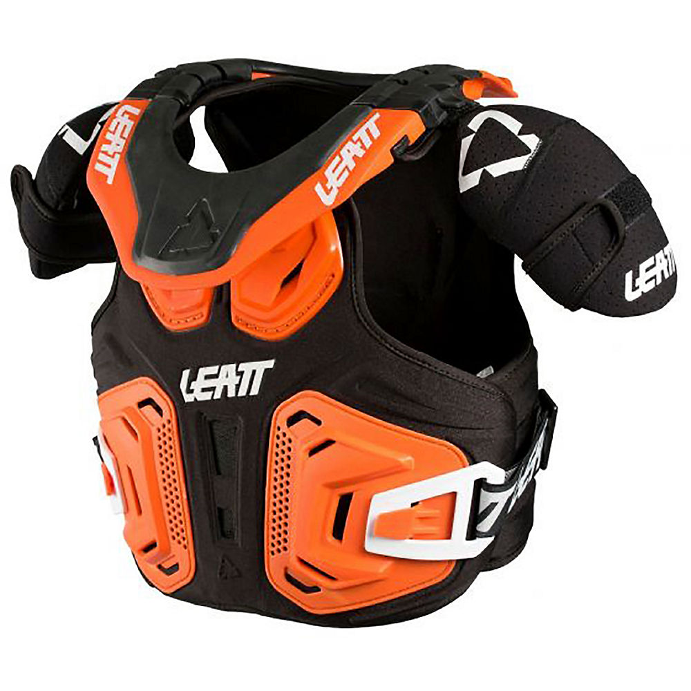 Chaleco protector infantil Leatt Fusion 2.0 - Naranja - XXL, Naranja