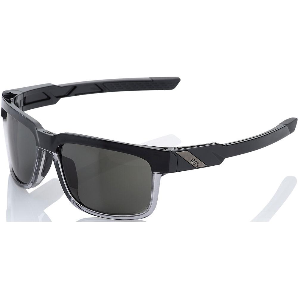 100% Type-s - Smoke Lens  - Soft Tact Black  Soft Tact Black
