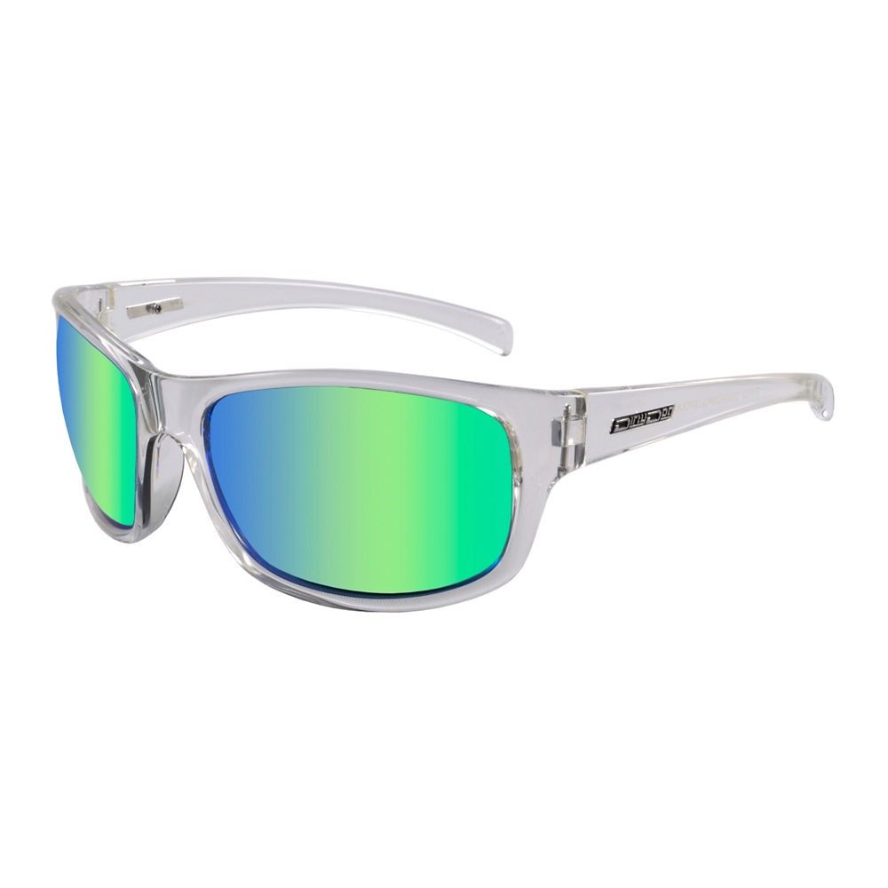 Image of Lunettes de soleil Dirty Dog Shock polarisées 2018 - Clear-Green Mirror Lens, Clear-Green Mirror Lens