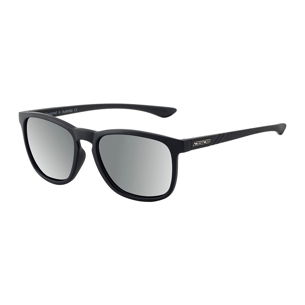 Image of Lunettes de soleil Dirty Dog Shadow polarisées - Black-Silver Mirror Lens