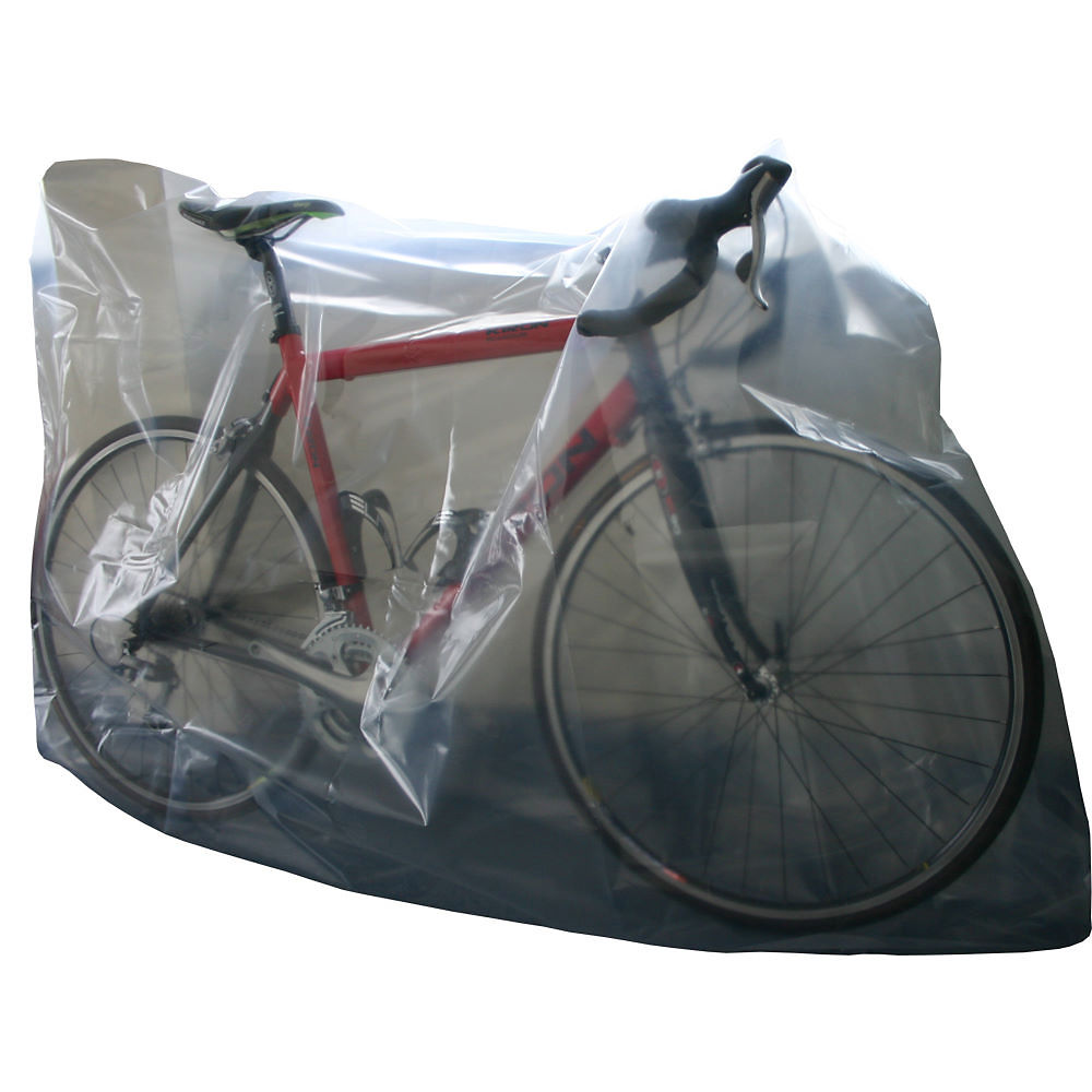 CTC Cycling UK Plastic Bike Bag - Transparente, Transparente