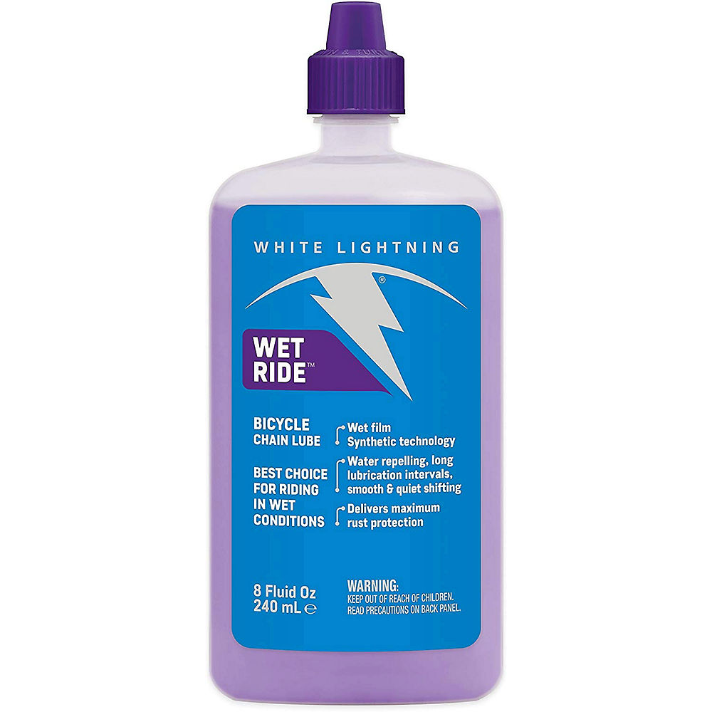 Image of Lubrifiant White Lightning WetRide Synthétique 240ml