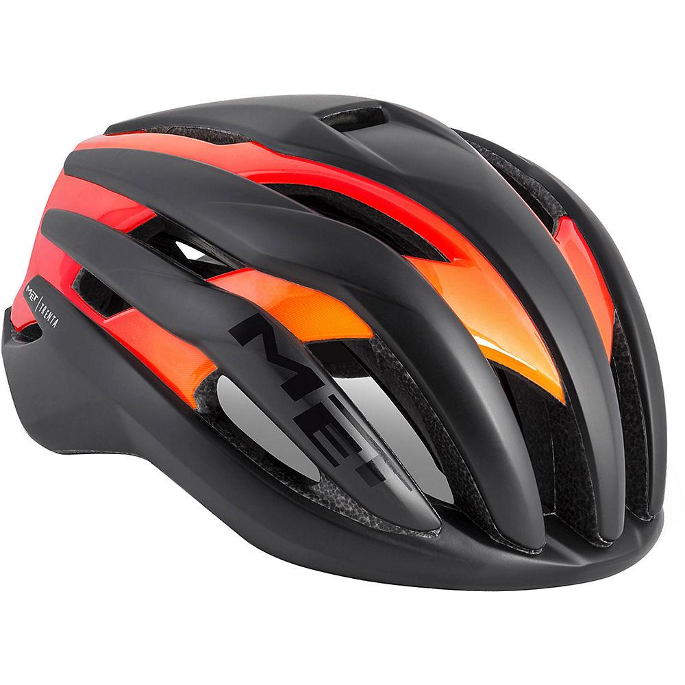 Met Trenta Road Helmet 2018 - Black-shaded Orange  Black-shaded Orange