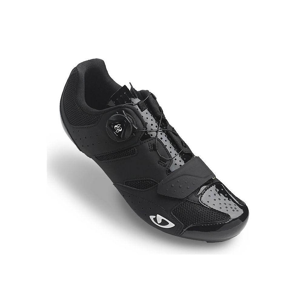 Giro Savix Women's Road Shoe – Black-White 19 – EU 37, Black-White 19