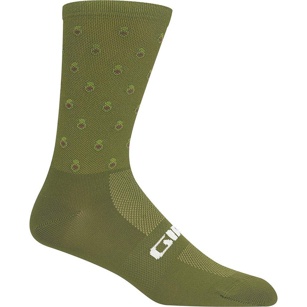 Giro Comp Racer High Rise Socks - Avacado, Avacado