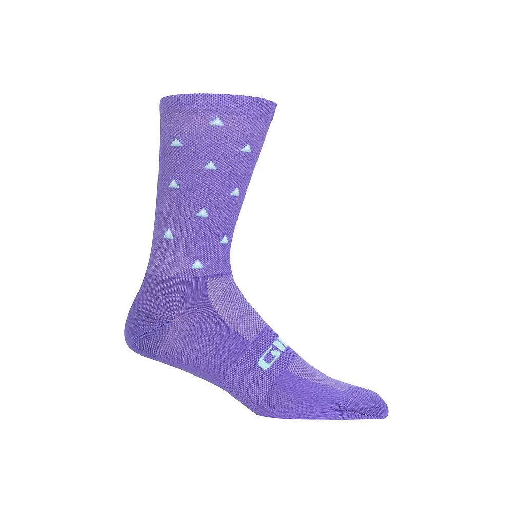 Giro Comp Racer High Rise Socks - Electric Purple - XL, Electric Purple