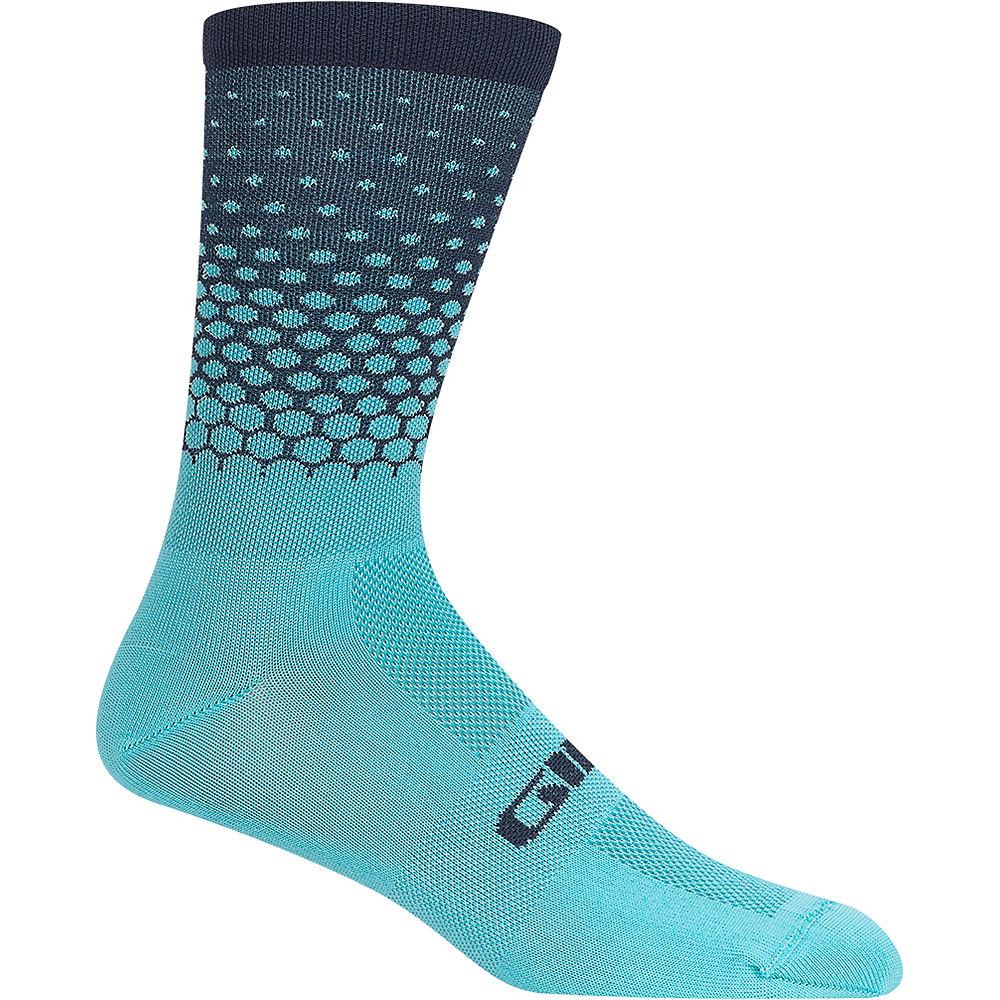 Giro Comp Racer High Rise Socks - Iceberg-Midnight, Iceberg-Midnight