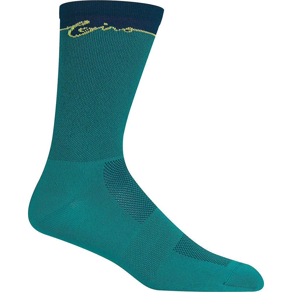 Giro Comp Racer High Rise Socks - True Spruce - XL, True Spruce