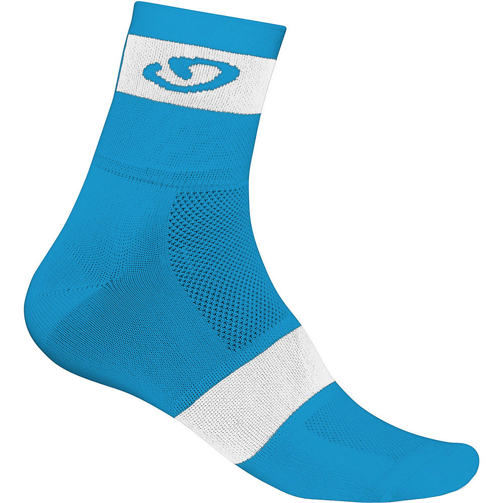 Giro Comp Racer Socks  - Blue-White, Blue-White