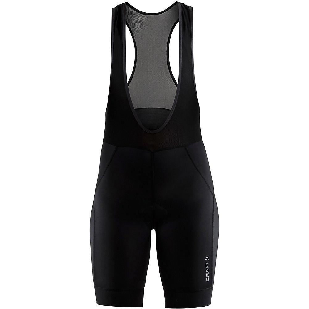Craft Women's Rise Bib Shorts - Black, Black