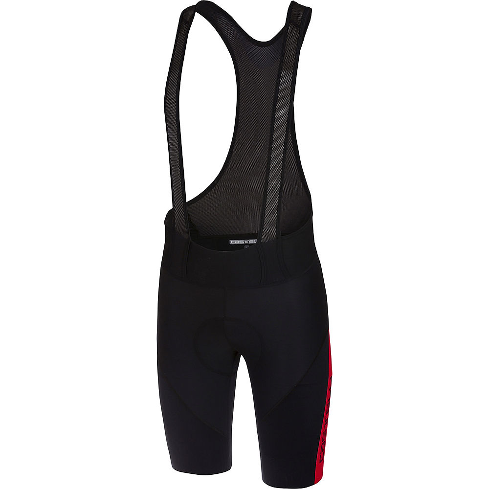 Castelli Velocissimo Iv Bib Shorts  - Black-red - Xl  Black-red