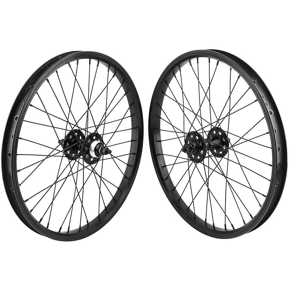 """Image of Paire de roues BMX SE Bikes (20 pouces) - Noir - 20"""""""