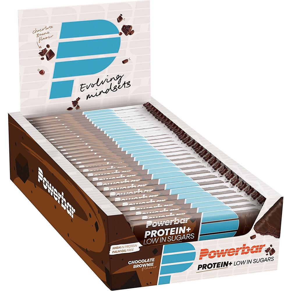Barritas de proteínas bajas en azúcar PowerBar Plus (30 x 35 gr)
