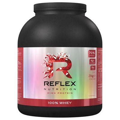 Bote de proteínas de suero Reflex 100% (2 kg)