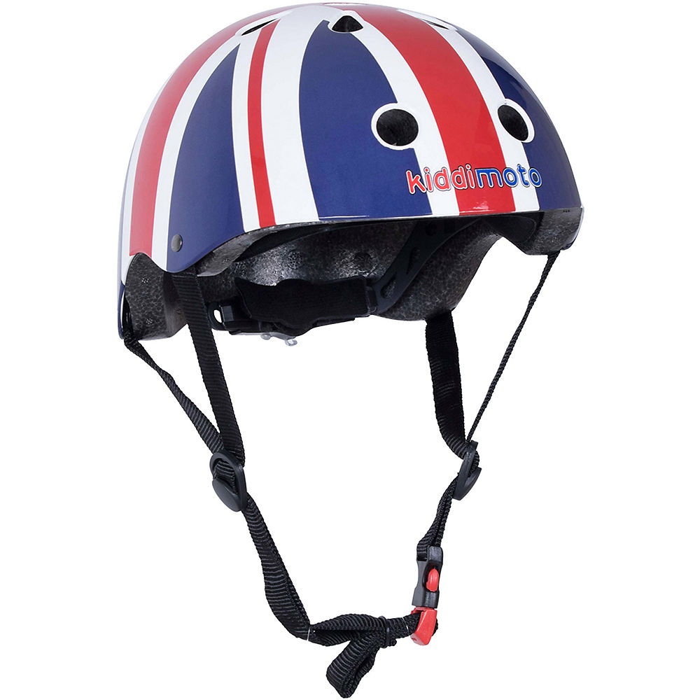 Image of Casque Kiddimoto Union Jack 2019 - Rouge - Blanc - Bleu
