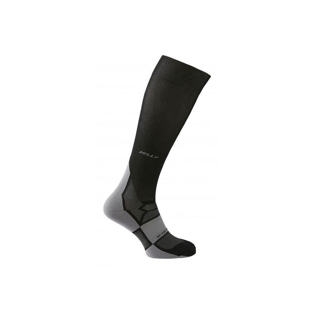 Hilly Pulse Compression Sock - Black-grey - Xl  Black-grey