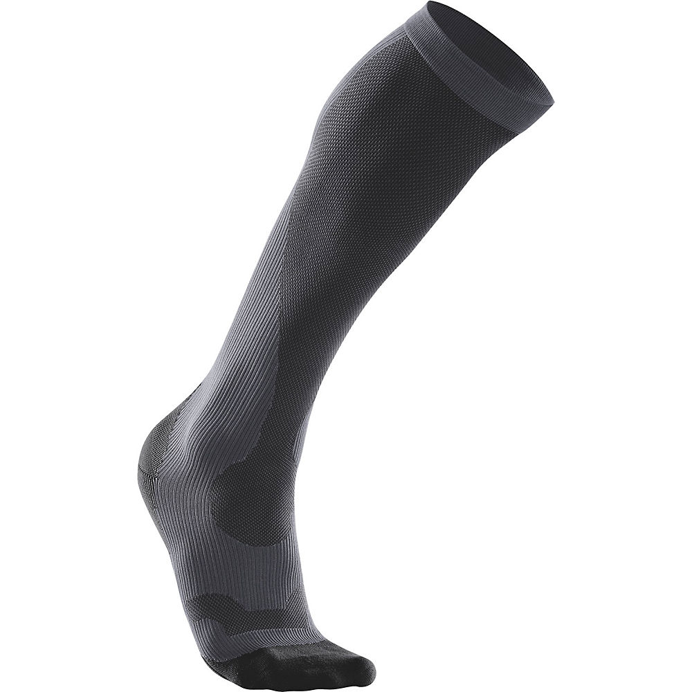 2xu Womens Performance Run Sock () - Black-black  Black-black