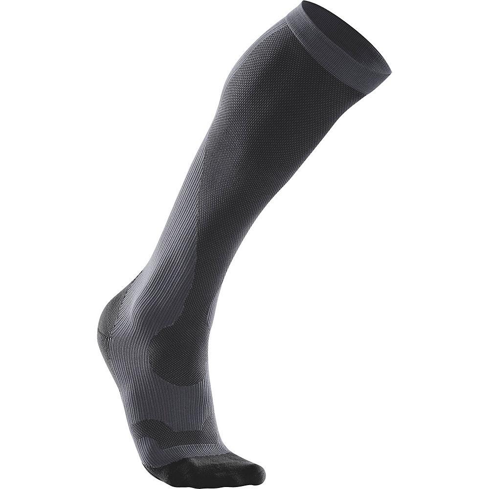 2XU Women's Performance Run Sock () - Black-Black, Black-Black