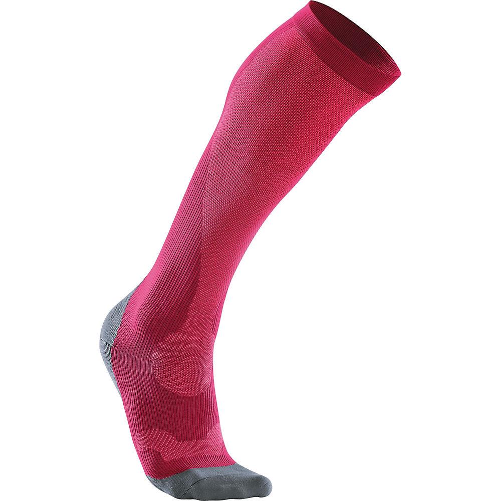 2xu Womens Performance Run Sock () - Hot Pink-grey  Hot Pink-grey