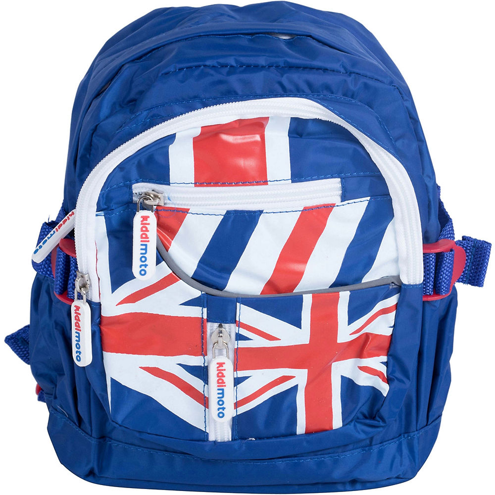 Image of Sac à dos Kiddimoto Union Jack 2018 - Rouge - Pack, Rouge