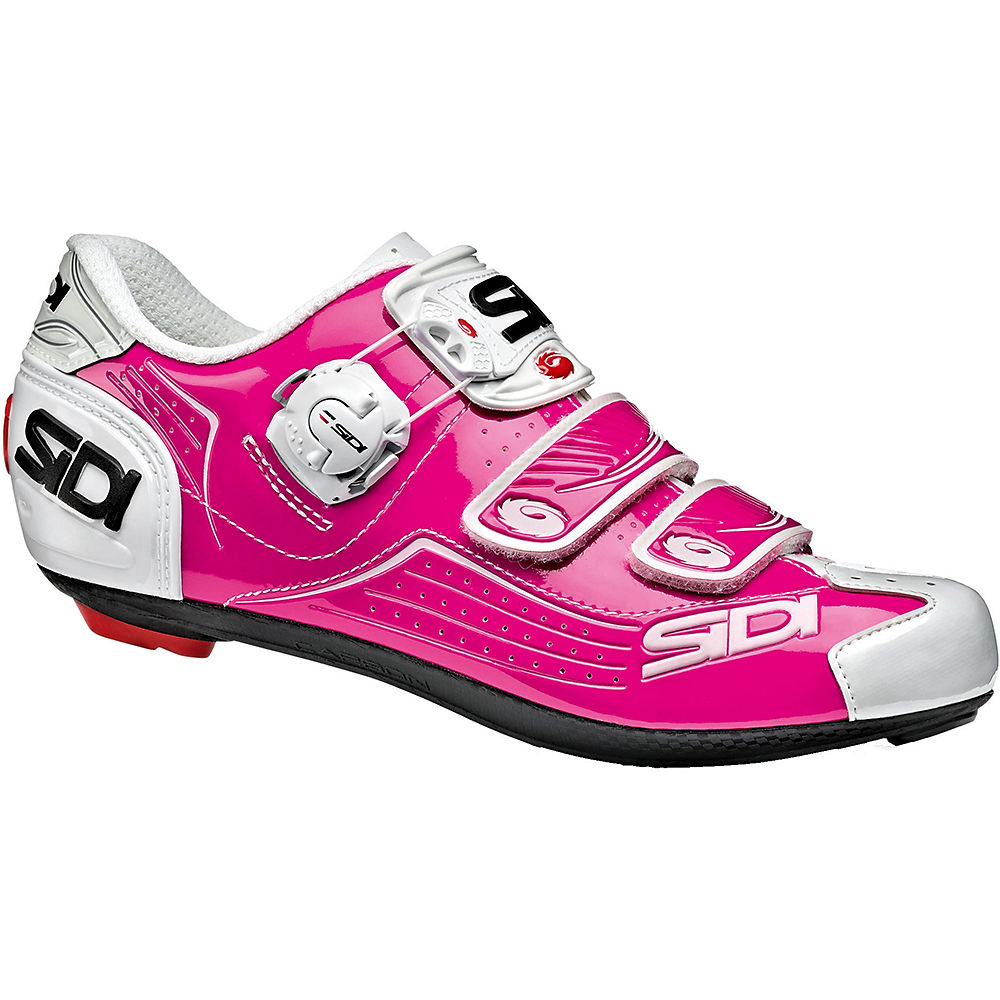 Image of Chaussure route Sidi Alba 2018 - PINK-WHITE, PINK-WHITE