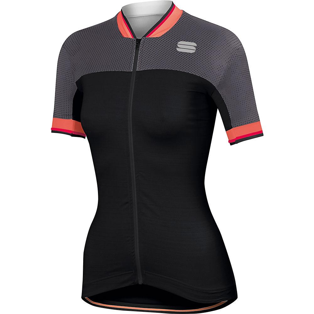 Sportful Womens Grace Jersey  - Black-anthracite - Xl  Black-anthracite