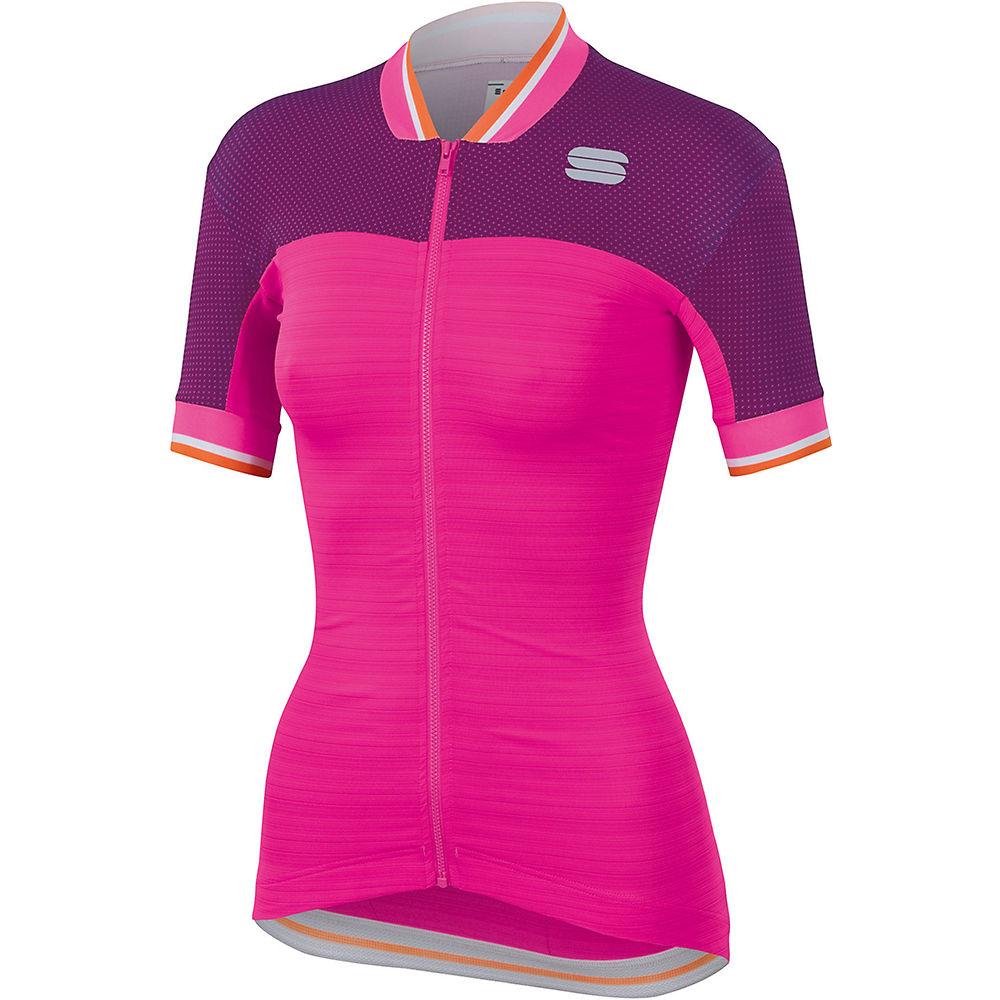 Sportful Womens Grace Jersey  - Bubble Gum-victorian Purple - Xl  Bubble Gum-victorian Purple