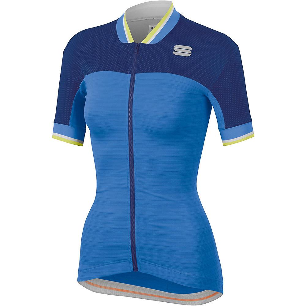 Sportful Womens Grace Jersey  - Parrot Blue-blue Cosmic  Parrot Blue-blue Cosmic