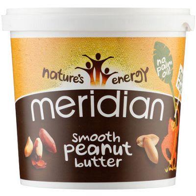 Mantequilla natural de cacahuete Meridian (bote de 1.000 gr)
