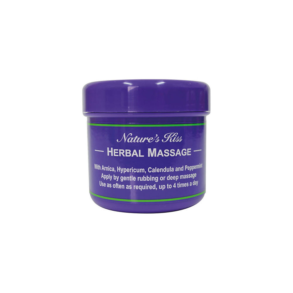 Crema de masaje Natures Kiss Herbal (450 gr) - Morado - 450g, Morado