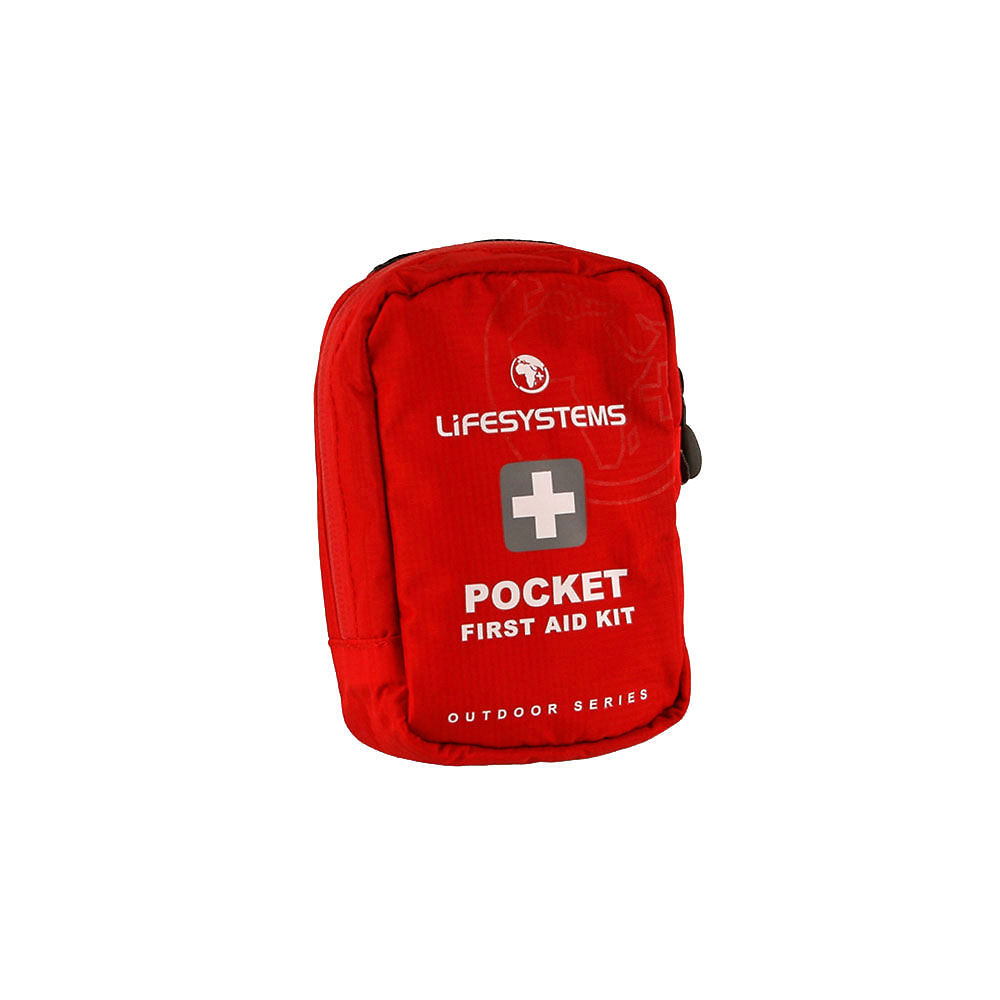 Lifesystems Pocket First Aid Kit - Red  Red