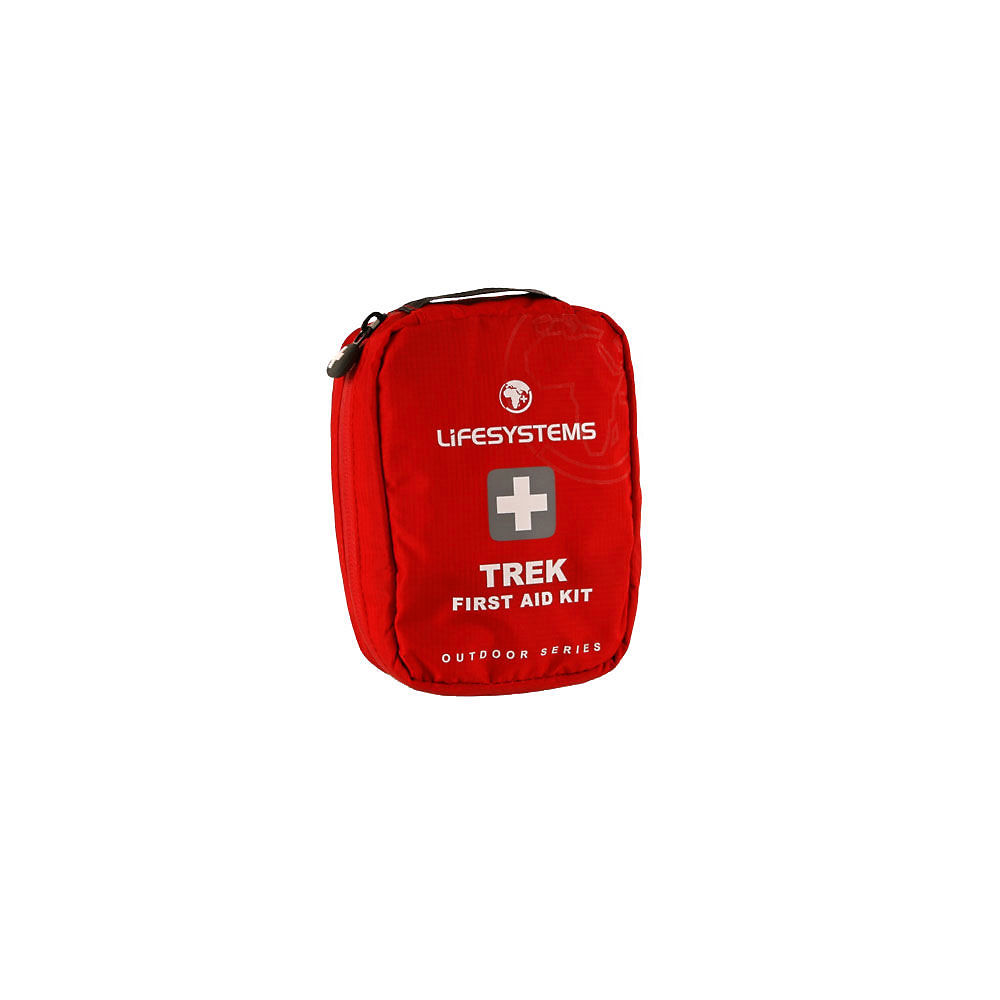 Lifesystems Trek First Aid Kit - Red  Red