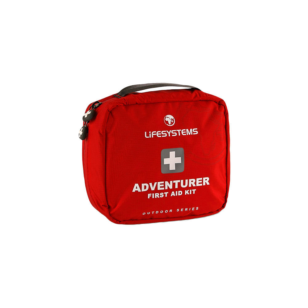 Lifesystems Adventurer First Aid Kit - Red  Red