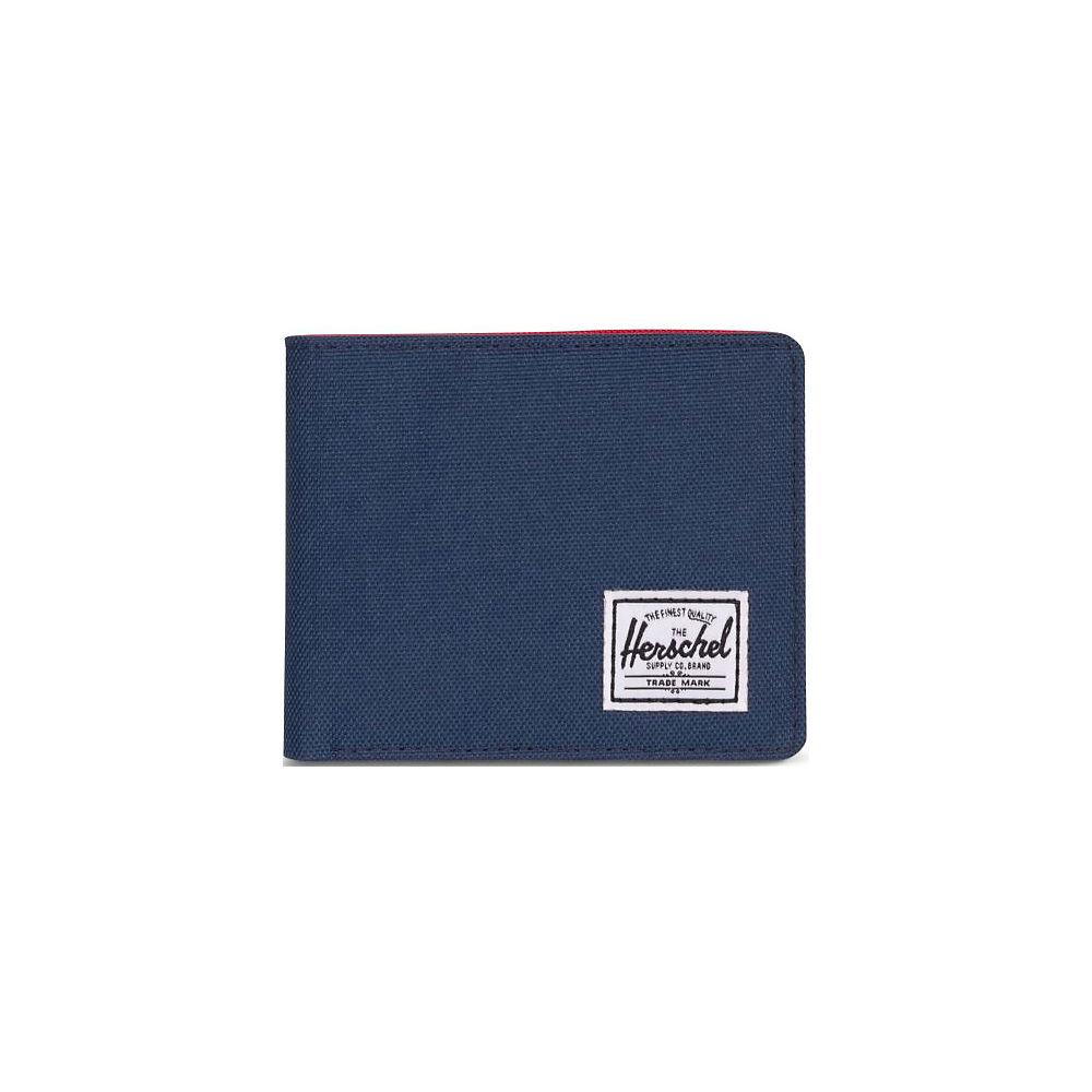Image of Sac Herschel Roy Wallet - Bleu marine/Rouge - OS, Bleu marine/Rouge