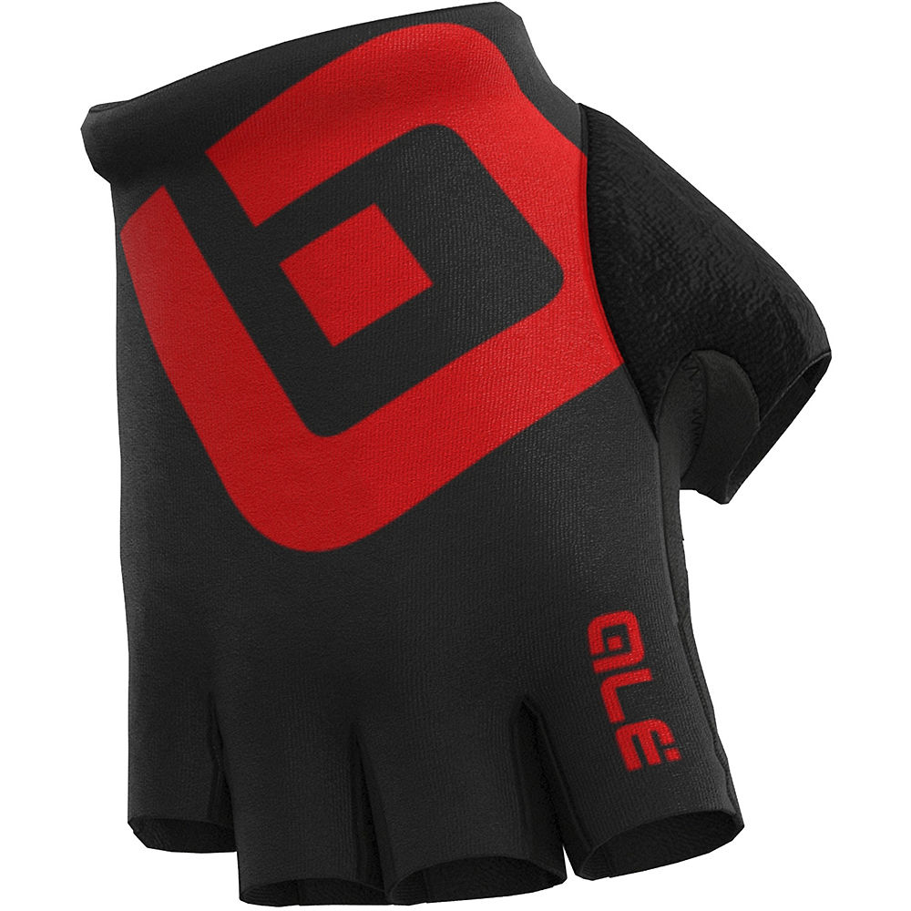 Alé Air Gloves - BLACK-RED - M, BLACK-RED