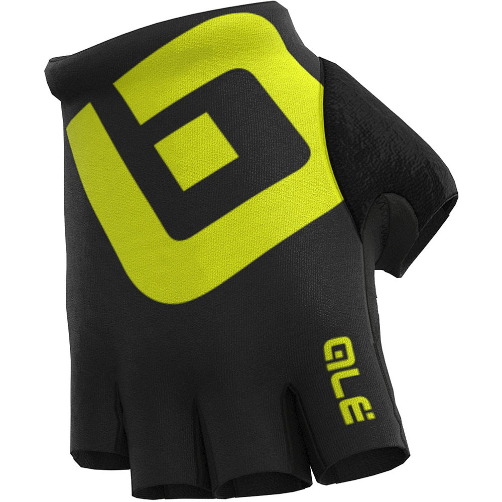 Alé Air Gloves - Black-Yellow - XL, Black-Yellow